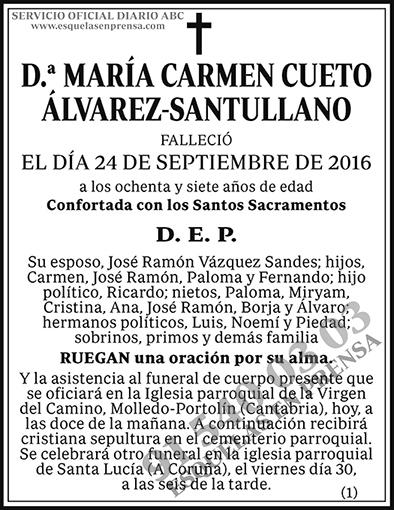 María Carmen Cueto Álvarez-Santullano